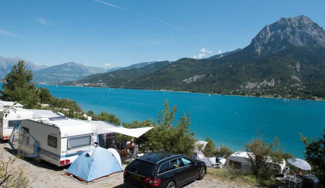 Camping Le Nautic serre ponçon lake