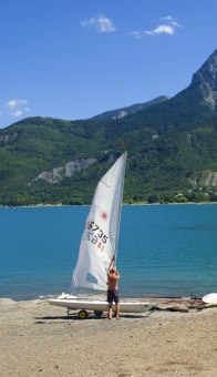 Windsurfing on the Lake of Poison