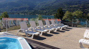 Camping Serre Poncon : Camping le nautic the swimming pool